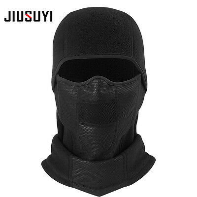 Thermal Polar Fleece Neck Warmer Full Face Mask Ski Hunting Snowboard Balaclava