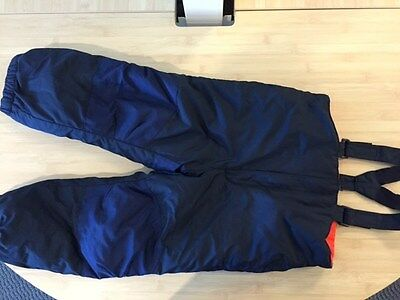 Old Navy 4T Boys Navy Winter Snow Bib Pants