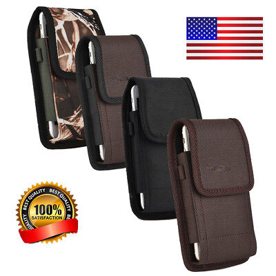 For Samsung Galaxy Note 8/S8 Plus/S8 Rugged Belt Clip Holster Pouch Carry Case
