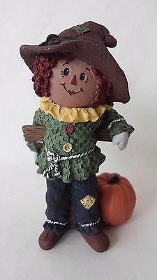 Sarah's Attic Fall Matt Scarecrow Halloween Raggedy Andy with Pumpkin 1995
