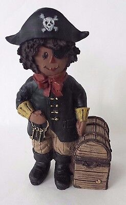 Sarah's Attic Fall Nat Pirate Raggedy Andy with Treasure Chest