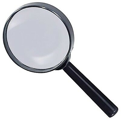 "80mm  3"" MAGNIFYING GLASS Hobby Crafts Print News Paper Map Reading"