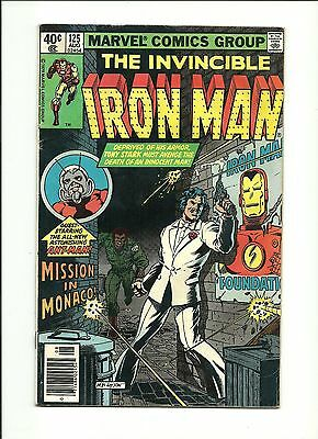Iron Man #125 (Vg-) Ant-Man Appearance Marvel 1979 Discounted Shipping!!!