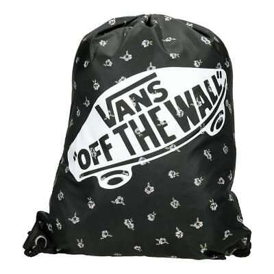V00SUFO2I, Saco sport (Gymsack) Vans – Benched Fall Floral negro/multi, Unisex,