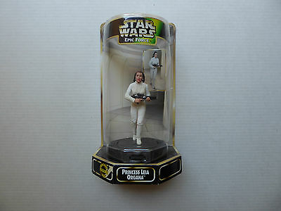 Star Wars Princess Leia Organa Bespin Escape Epic Force Collectors 360 Rotating