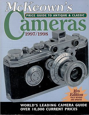 McKeown's Price Guide to Antique and Classic Cameras 1997-1998