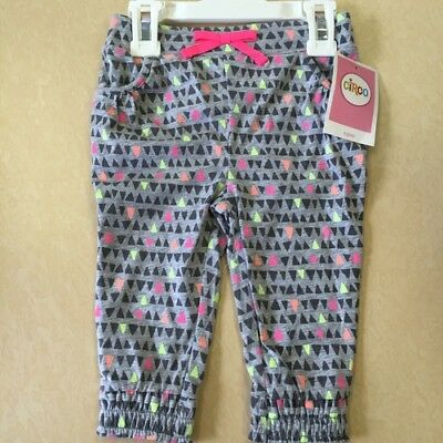 NEW, Circo Toddler Girls' Fashion Pants- Heather Gray- All Sizes