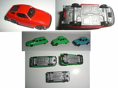 Citoen CX + 2CM, Golf LS Modellautos Plastik,Porsche 924 * Made in Germany HO ?