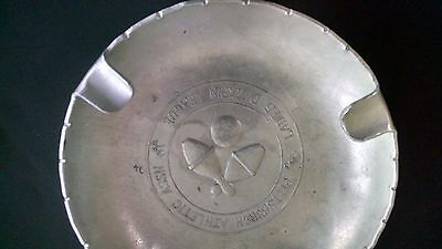 Commemorative Wendell August Forge Aluminum Ash Tray-Ladies Duckpin League,