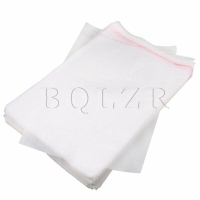 100pcs BQLZR Large Size Self Adhesive Seal Plastic Packaging Pouches 40x30cm