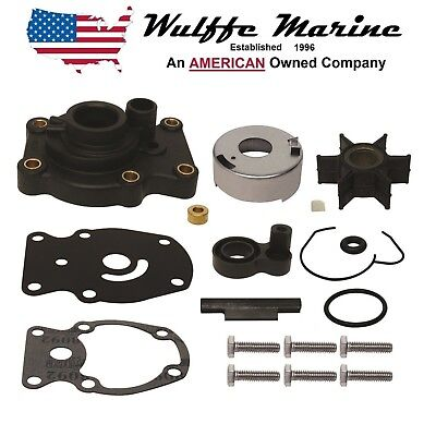 Water Pump Kit for Johnson Evinrude 25 & 35 Hp 3 Cylinder 1996-2001 Repl 437907