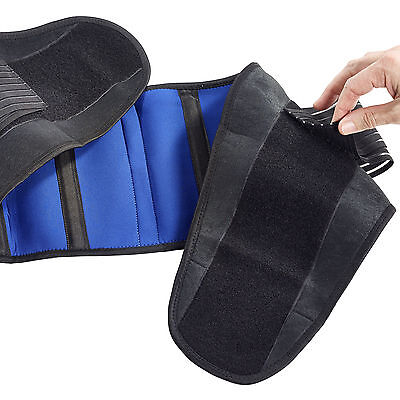 DOUBLE PULL BACK BRACE SUPPORT Adjustable Neoprene Lumbar Orthopaedic Belt