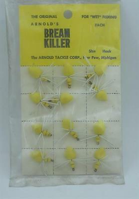 Arnold Bream Killer Yellow Original Classic Flies 12CT 23031