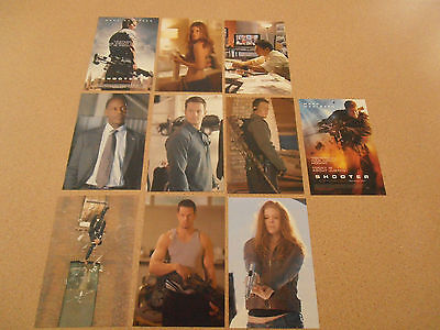 shooter (mark wahlberg) movie postcards