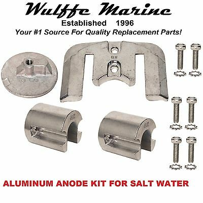 Aluminum Anode Kit for Mercruiser Bravo 2 3 II III Sterndrives 1988 - 2002