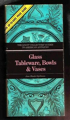 Huge, & Colour Guide to American Historical GLASS. Collectors Items, description