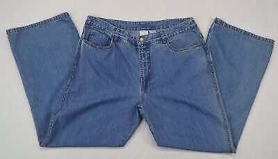 Bleu Bayou Casual Wear NWT Studded Leg / Pockets Womens Denim Blue Jeans size 16
