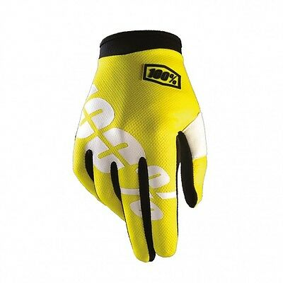 100% - iTrack Neon Gloves