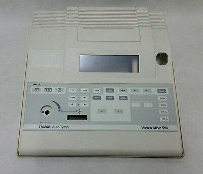 Welch Allyn Tm262 Housing Cover Board Button Tymp Tympanometer Audiometer GSI TM