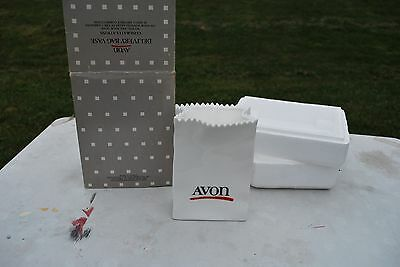 Avon Delivery Bag Vase MIB!!!