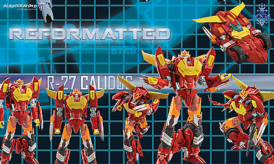 MMC Reformatted R-27 CALIDUS aka Transformers IDW Hot Rod In-Stock US Retailer