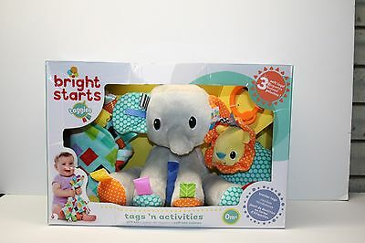 Bright Starts Taggies | Elephant & Lion |