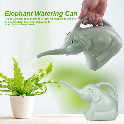 17x12cm Lovely Elephant Watering Can Home Patio Lawn Gardening Plant Outdoor MF
