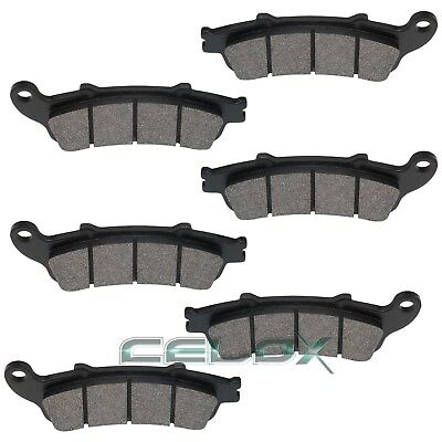 Fits HONDA CBR1100XX Blackbird 1100 1997 1998-2004 FRONT & REAR BRAKE PADS