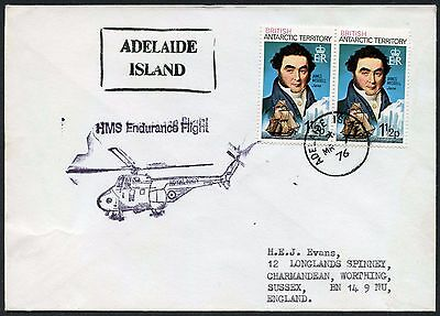 Antarctic Bat Helicopter Flight Adelaide Island Hms Endurance 1976