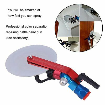 Spraying Machine Color Separation Repairing Baffle Paint Gun Spray Guide Tool OY