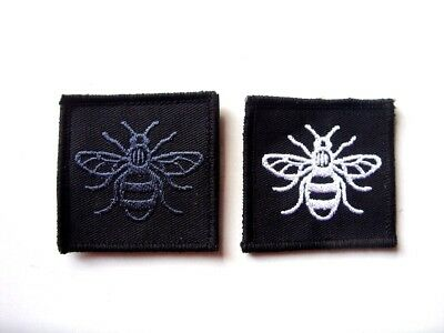Emergency Services Manchester Bee Tac Vest Badge  999 Police Fire