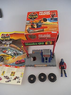 MASK Kenner Pit Stop Catapult mit Sly Rax in OVP von 1985 (963)