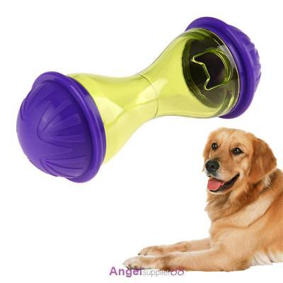 Interactive Play Toy Pet Dog Puppy Cat Treat Dispensing Holder Training Chew