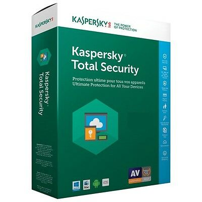 Kaspersky Total Security 2017 1 Device - 1 year key full version