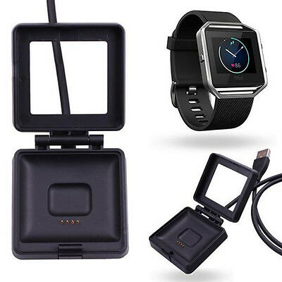 Charging Dock for FitBit Blaze Watch Replacement USB Charger Cradle Cable