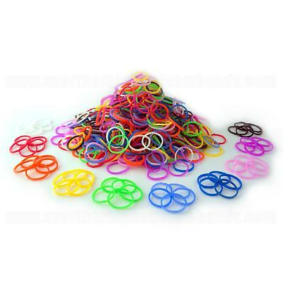 1200 Neon Colour Loom Bands Loom Crazy With S Clips And Hook