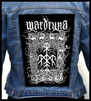 WARDRUNA --- Giant Backpatch Back Patch