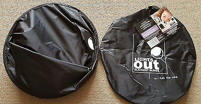 AS NEW. Lights Out Portable Baby Kids Blackout blind