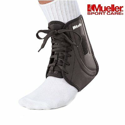 Ankle Brace Support - Mueller ATF 2 Splint Boot Stabilizer for Joint Pain, or or