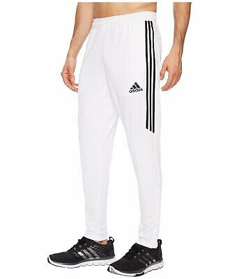 NEW MEN'S ADIDAS Tiro 17 Pants - CF3606 - White/Black