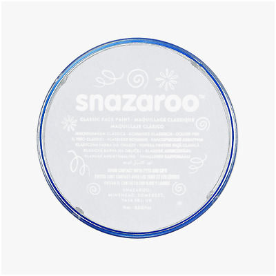 Face Paint Painting Makeup SNAZAROO 18ML Classic Ghost Halloween 28 Colors - New