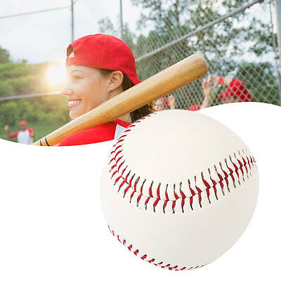 Traditional White Cork Rubber Foam PVC Baseball Game Hand Sewn Sports Gaming