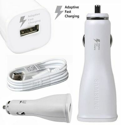 Samsung Fast Car Charger & Cable For Samsung Galaxy S9 S8 + A3 A5 2017 Note 8