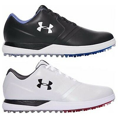 Under Armour Performance SL  Spikeless Golf Shoes Black/White Cream