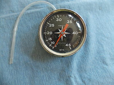 Vintage Air Guide 0-45 Mph Boat Speedometer