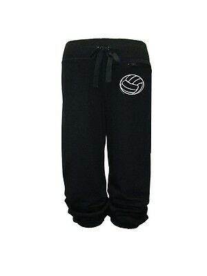 Sweet Mighty Volleyball Fleece Capris SM-44-VBSB-L