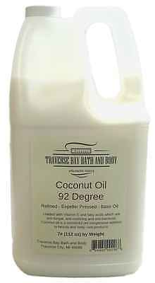 Coconut Oil 92, Organic, Soap making supplies. 7 pound Gallon.