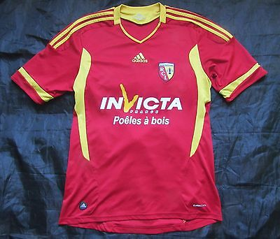 RC Lens RACING CLUB home jersey shirt ADIDAS 2011-12 Les Sang et Or ADULT SIZE M