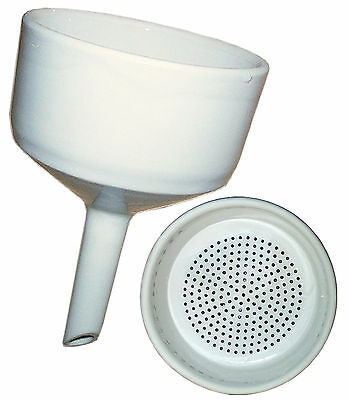 G-1982 Buchner Funnel, 90mm, 350ml Superior Quality Porcelain
