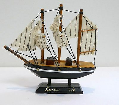 """Small Ship Model Fully Assembled 4"""""""